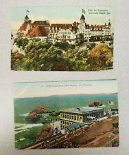 California Postcards - Hotel del Coronado and Cliff House