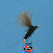 RS2 Emerger BLACK Premium Fishing Flies - Dozen -Select Sizes***