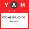 F0D-6515A-02-00 Yamaha Hinge assy F0D6515A0200, New Genuine OEM Part