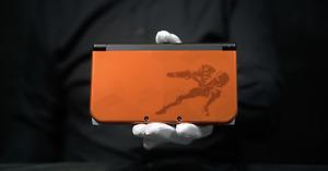 New Nintendo 3DS XL Metroid Samus Edition Console PAL - 'The Masked Man'