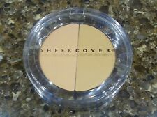 Sheer Cover DUO CONCEALER ~ Shade is LIGHT/MEDIUM ~ Large Size 3g ~ NEW & SEALED