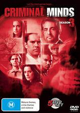 Criminal Minds: Season 3 * NEW DVD * (Region 4 Australia)