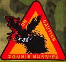 ZHT GEAR: ZOMBIE BUNNIES! PATCH  ~ ZOMBIE HUNTER! THE WALKING DEAD! AMC