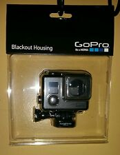 Genuine OEM GoPro Blackout Housing HERO4 HERO3+ HERO3  NO TAX - FREE SHIPPING