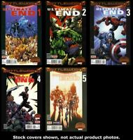Ultimate End 1 2 3 4 5 Complete Set Run Lot 1-5 VG