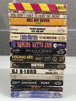 Lot Of 14 80s/90s R&b Soul Cassette Babyface Mariah Swv TLC Dj B-Lord Ginuwine