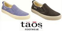 Taos Shoes Canvas comfort slip ons - Rubber Soul