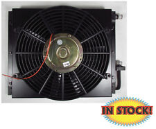 Remote Mount A/C Condenser with Fan and Shroud - TBI CN100FS