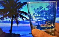 Tony's On The Pier Mai Tai Glass 60th Anniv Blue Cali Tiki Culture 3 Available