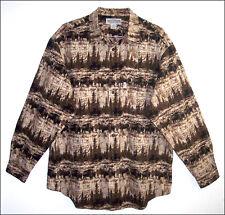 Men's Roundtree & Yorke AMERICAN BISON long sleeve cotton shirt - size XL