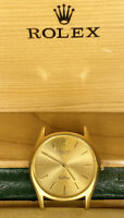 Rolex Cellini Men's Watch 18k Yellow Gold Dial Hand-Wind Ref: 3804 c. 1976