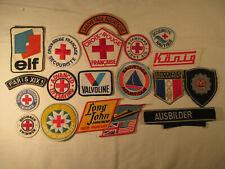 Rotes Kreuz Wasserwacht Croix Rouge Red Cross Patch Vintage Aufnäher 18 Stück