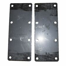 500Kg Mounting Plate (Pair) 8 Hole Suspension Unit Welding Weld On Plate