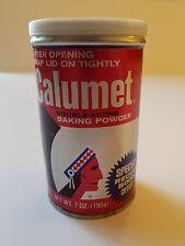 Calumet Baking Powder Tin Still Small Amount Original Powder In Tin Nov 1989