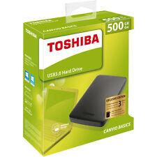 TOSHIBA 500 GB Canvio Basics, Externe Festplatte, 2.5 Zoll