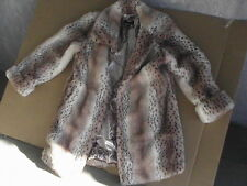 Dennis Basso faux fur coat excellent condition comes with scarf