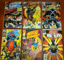 Ghost Rider/Blaze: Spirits of Vengeance (Midnight Sons) 💀🔥💀NM #7 to #12 Lot