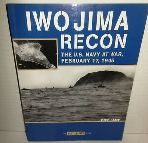 BOOK Iwo Jima Recon by iCamp USN Scounting Landing Beaches 2-Days B4 Invasion