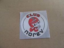 54G Decal Club Norev Autocollant Publicitaire