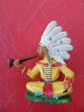 "Figure "" Sachem Indian choose Handmade "" of Brand Michel - Full/Complete"