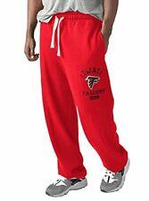 Atlanta Falcons NFL Men Sweatpants Red Black White Drawstring Large New 🔥🔥