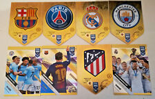 FIFA 365 2019 ADRENALYN XL Panini # 10-100 Man City Barcelona Real Madrid
