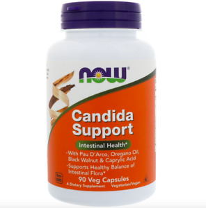 NOW FOODS CANDIDA SUPPORT 90 V CAPS - INTESTINAL SUPPORT