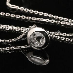 🎀*Chopard Happy Diamonds*Icons*Collier*750 Weißgold*Brillanten*Ref.819562*