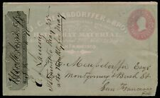 am60 USA PS Wells Fargo UPSS 124 All Over Advertising San Francisco Reply Cover