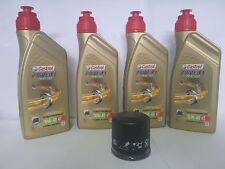 KIT D'ENTRETIEN CASTROL POWER 1 RACING 10W40 + FILTRE MV AGUSTA	F4 RR 312R