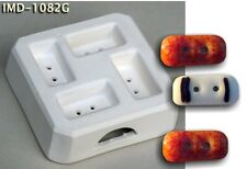 Imd-1082G Rectangular Jewelry Easy Button Glass Fusing pod mold