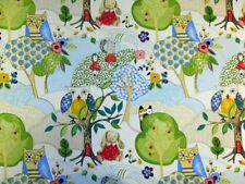 Prestigious Woodland Friends Summer Cotton Curtain Upholstery Designer Fabric