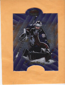 1998 99 BOWMANS BEST PATRICK ROY TYLER MOSS MIRROR IMAGE FUSION #F10 AVALANCHE