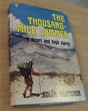 "Original '1st Edition' 1964 ""The THOUSAND MILE SUMMER"" Colin Fletcher~Backpack~"