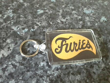Baseball Furies Logo Jumbo Keyring. NEW. The Warriors. Cult Film. 70's Cinema