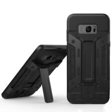 Armour Bear Samsung Galaxy S8 Shockproof Case With Card Holder and Stand