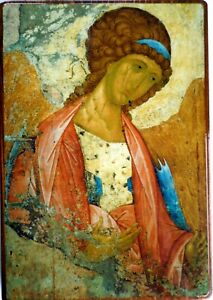 Orthodox Russian icon of the Archangel Michael made in Russia