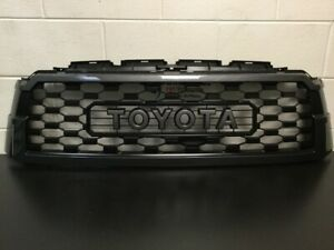 Genuine Toyota 2018 & Newer Sequoia TRD PRO 1G3 Magnetic Gray Grill PT363-0C200-