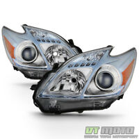 For 2010-2011 Toyota Prius Halogen Model Headlights Headlamps 10 11 Left+Right