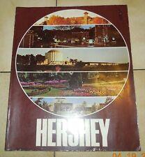 1979 Hershey Amusement Park Book Program Pictures Maps History Story Vintage