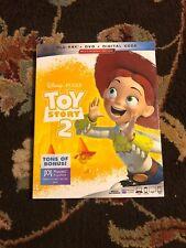 Toy Story 2 Blu-ray, Dvd, Slip Cover, 2019) No Digital