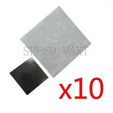 10pcs 25x25mm Double Side Square Thermal Adhesive Tape Pads for Heat Sink