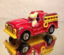 1966 AVIVA SNOOPY FIRE TRUCK/ HONG KONG/ LOOSE/ PRE OWNED