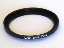 paso por Adaptador 50mm-55mm Anillo 50mmA 55mm 50-55 del filtro de