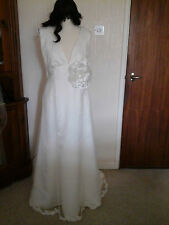 Lace V Neck Unbranded Wedding Dresses