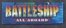 Mikohn's Battleship Game Glass for Sigma Upright Video UV 1700 Slot Machine