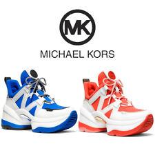 Michael Kors женские Олимпия кожа и акваланга тренер кроссовок