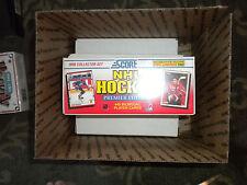 ( 3 sets ) 1990 SCORE Bilingual 445 card HOCKEY sets NEVER OPENED