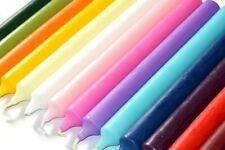 COLOURFUL NON DRIP DINNER CANDLES FOR CHEAP PRICE - MANY SHADES PACK of 5