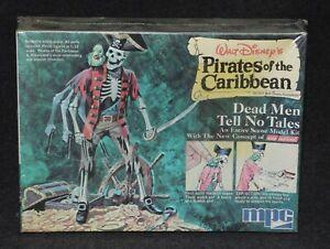 Disney MPC 1972 Model Pirates Caribbean Dead Men Tell No Tales MIB Factory Seald